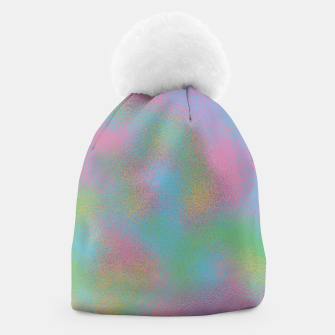 Thumbnail image of Faux Holographic Glass texture  Beanie, Live Heroes