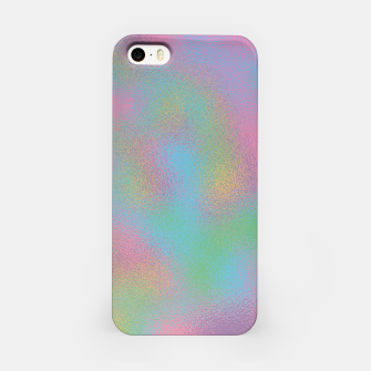 Miniaturka Faux Holographic Glass texture  iPhone Case, Live Heroes