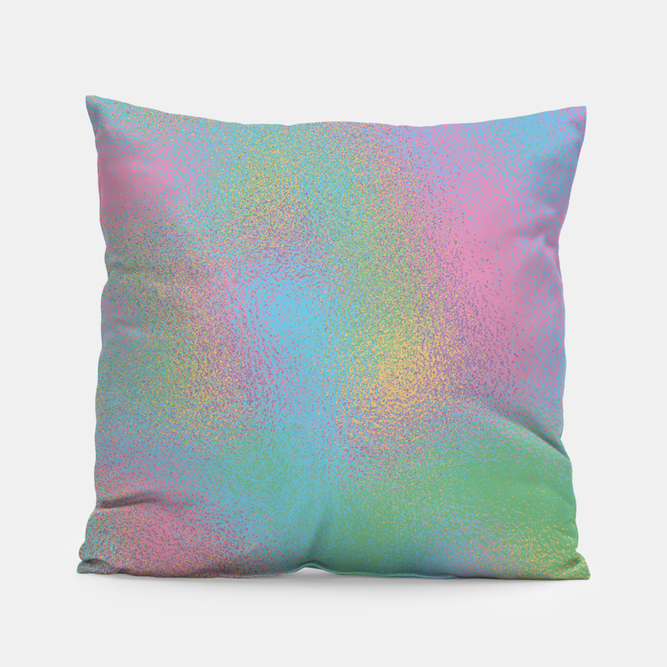 Foto Faux Holographic Glass texture  Pillow - Live Heroes