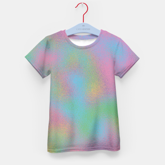 Thumbnail image of Faux Holographic Glass texture  Kid's t-shirt, Live Heroes