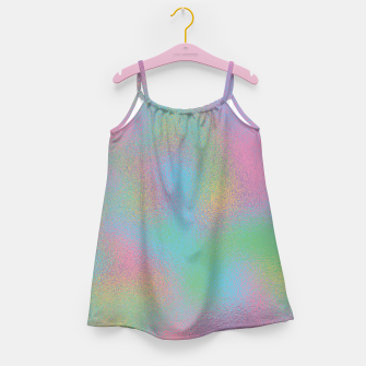 Miniaturka Faux Holographic Glass texture  Girl's dress, Live Heroes