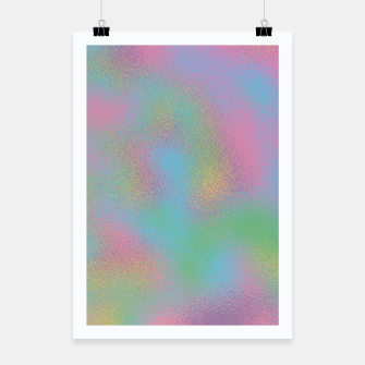Thumbnail image of Faux Holographic Glass texture  Poster, Live Heroes