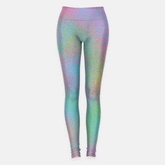 Thumbnail image of Faux Holographic Glass texture  Leggings, Live Heroes