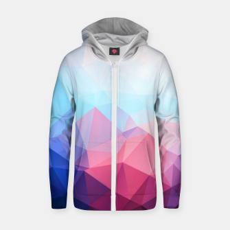 Thumbnail image of GEO BRIGHT Zip up hoodie, Live Heroes
