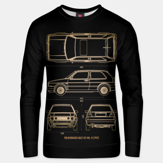 GOLF mk 2 1992 Unisex sweater thumbnail image