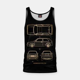 Thumbnail image of GOLF mk 2 1992 Tank Top, Live Heroes