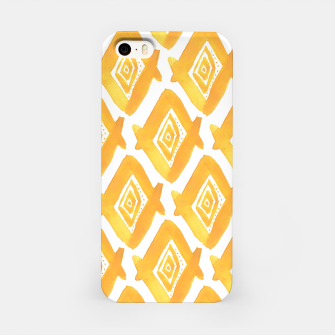 Miniature de image de Ethnic Yellow Pattern iPhone Case, Live Heroes