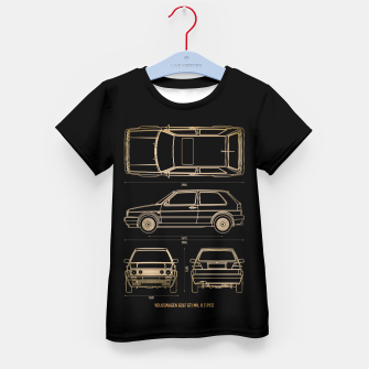 GOLF mk 2 1992 Kid's t-shirt thumbnail image