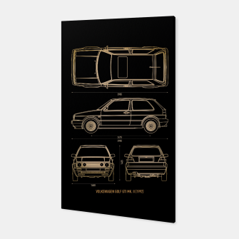 GOLF mk 2 1992 Canvas thumbnail image