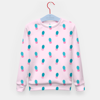 Thumbnail image of Succulent Cacti Plant Pattern Kid's sweater, Live Heroes