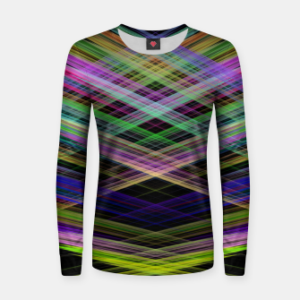 Thumbnail image of Neon Splashes Frauen sweatshirt, Live Heroes