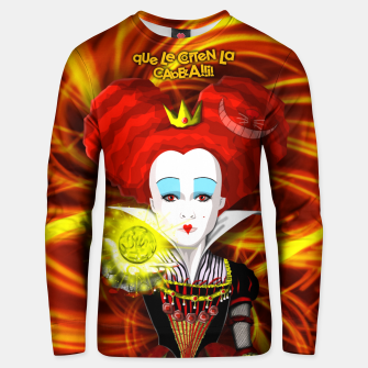 Thumbnail image of QUEEN OF HEARTS one Sudadera unisex, Live Heroes