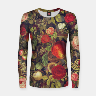 Thumbnail image of Eden Women sweater, Live Heroes