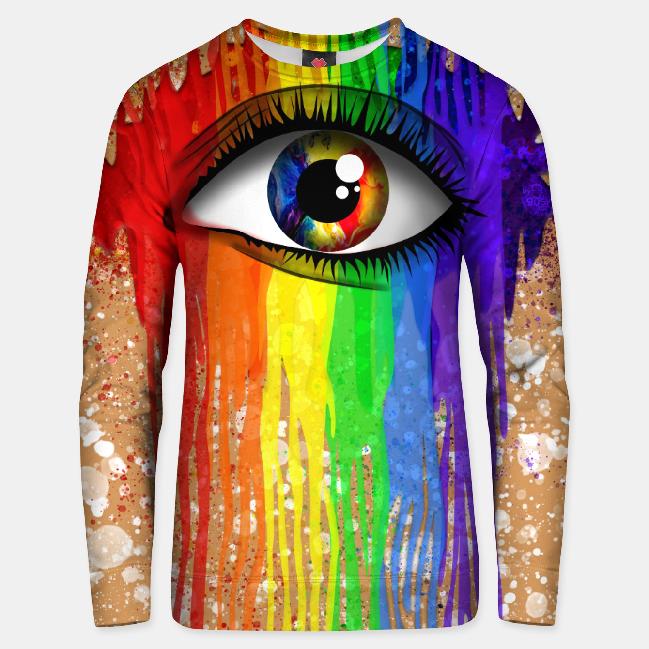 Imagen de THE EYE OF THE RAINBOW Sudadera unisex - Live Heroes