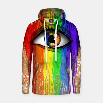Thumbnail image of THE EYE OF THE RAINBOW Sudadera con capucha, Live Heroes