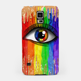 THE EYE OF THE RAINBOW Carcasa por Samsung imagen en miniatura
