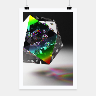 Thumbnail image of Crystal Clear Poster, Live Heroes