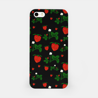 Thumbnail image of Wild Strawberries Pattern iPhone Case, Live Heroes