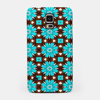 Thumbnail image of Turquoise roses Carcasa por Samsung, Live Heroes