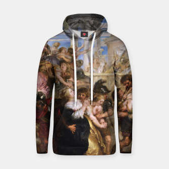 The Rape of the Sabine Women by Peter Paul Rubens Hoodie obraz miniatury