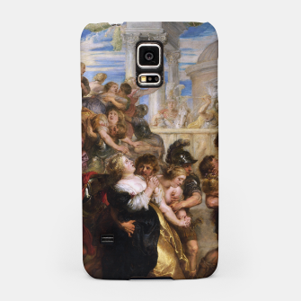 Thumbnail image of The Rape of the Sabine Women by Peter Paul Rubens Samsung Case, Live Heroes