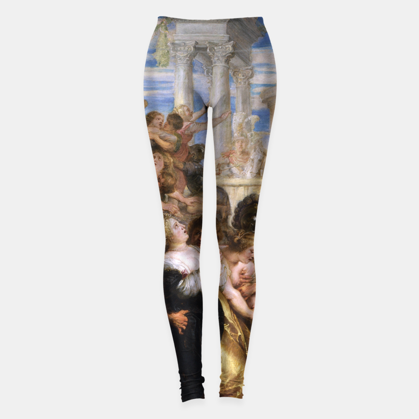 Zdjęcie The Rape of the Sabine Women by Peter Paul Rubens Leggings - Live Heroes