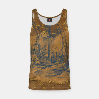 Miniatur Travel with me Tank Top, Live Heroes
