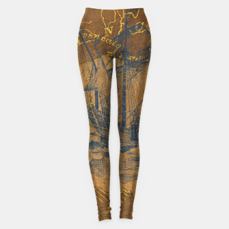 Miniatur Travel with me Leggings, Live Heroes