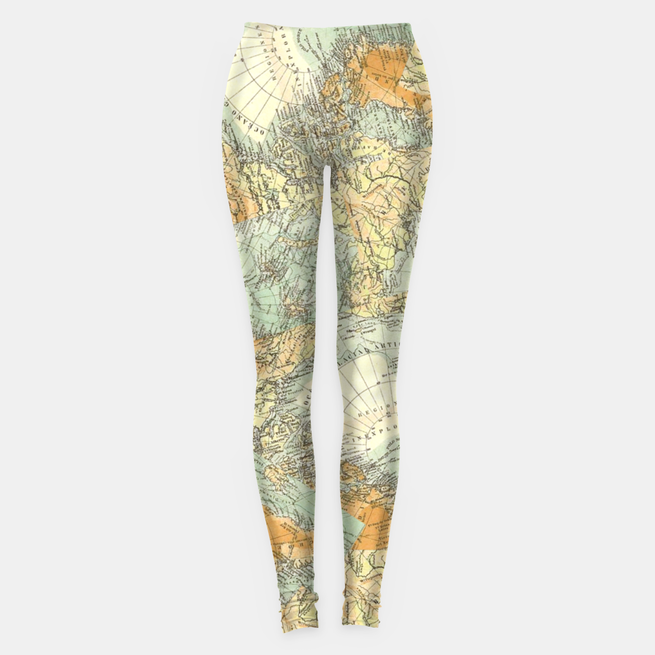 Image of Travel No.1. Leggings - Live Heroes