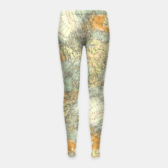 Miniatur Travel No.1. Girl's leggings, Live Heroes