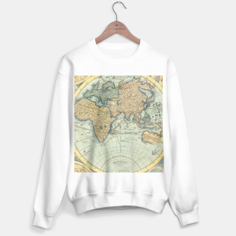 Miniatur Globe Sweater regular, Live Heroes