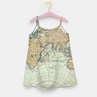 Miniatur Globe Girl's dress, Live Heroes