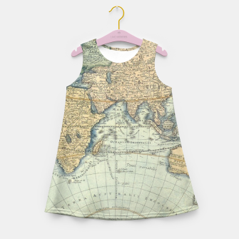 Miniatur Globe Girl's summer dress, Live Heroes