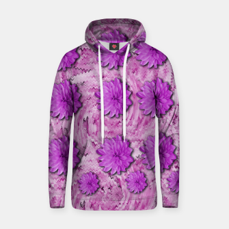 Miniatur flowers and decorative floral petals Hoodie, Live Heroes