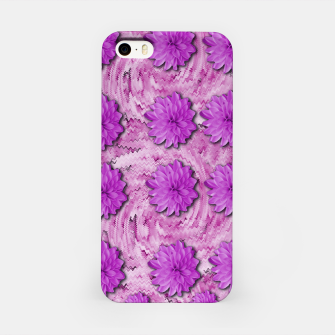 Miniatur flowers and decorative floral petals iPhone Case, Live Heroes
