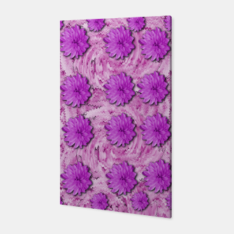 Miniatur flowers and decorative floral petals Canvas, Live Heroes