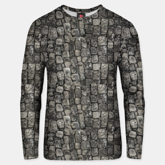 Thumbnail image of Ancient Stone Wall Pattern Unisex sweater, Live Heroes