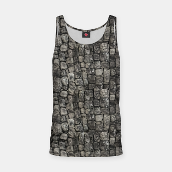 Thumbnail image of Ancient Stone Wall Pattern Tank Top, Live Heroes