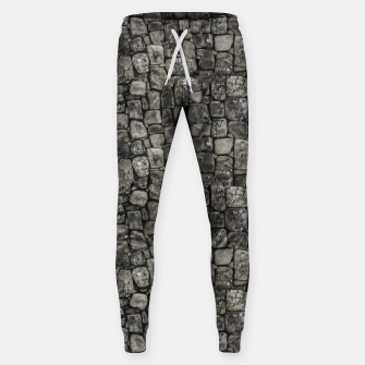 Thumbnail image of Ancient Stone Wall Pattern Sweatpants, Live Heroes