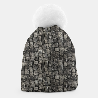 Thumbnail image of Ancient Stone Wall Pattern Beanie, Live Heroes