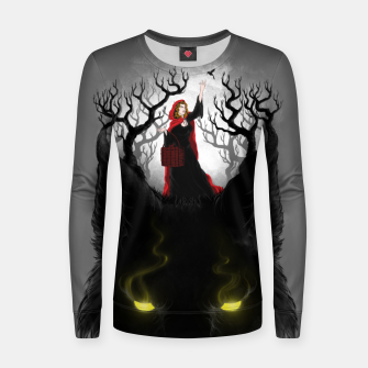 Thumbnail image of Beast Lair Women sweater, Live Heroes