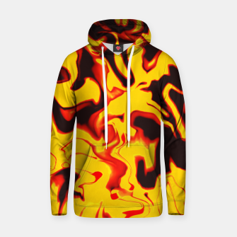 Thumbnail image of Black and yellow marble Hoodie, Live Heroes