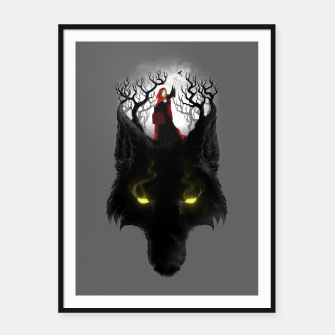 Thumbnail image of Beast Lair Framed poster, Live Heroes