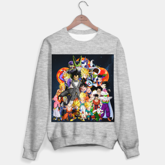 Thumbnail image of DBZ - Another Character Collage Sweater regular, Live Heroes
