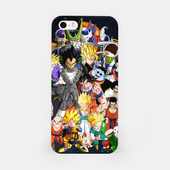 Thumbnail image of DBZ - Another Character Collage iPhone Case, Live Heroes