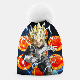Miniatur Vegeta Attacking Beanie, Live Heroes