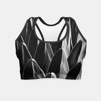 Thumbnail image of Agave Chic #8 #succulent #decor #art Crop Top, Live Heroes