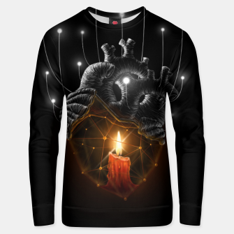 Thumbnail image of The Warmth  Unisex sweater, Live Heroes