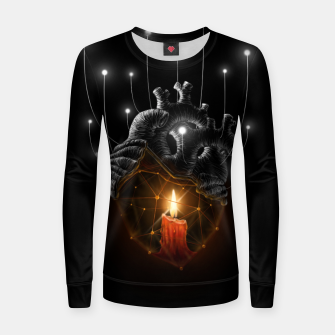 Thumbnail image of The Warmth  Women sweater, Live Heroes