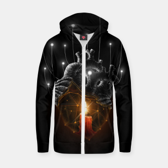 Thumbnail image of The Warmth  Zip up hoodie, Live Heroes